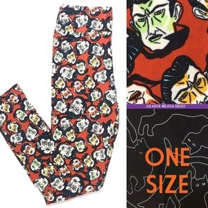 LuLaRoe Halloween Leggings OS One Size retired